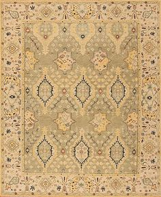 Caspian - Astara - Samad - Hand Made Carpets Green Rugs, Transitional Rugs, Home Rugs, Hand Spinning, Carpets, Weaving, Texture, Wool, Antiques