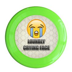 SAXON13 New Design Crying Face 150g KellyGreen Toys Flying Disc >>> Check this awesome product by going to the link at the image.