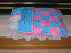 baby doll bed made from plastic box | made this doll bed using a plastic storage container. The pattern is ...