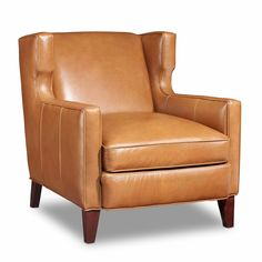Bradington-Young Amista Leather Club Chair | from hayneedle.com