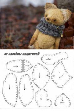 Лавка теддиста.Авторские мишки Тедди.