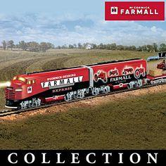 """Farmall Delivers Express"" Illuminated Electric Train"
