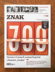 Znak, No 700 by Paweł Jońca, via Behance