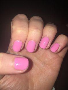 New nails Bio Sculpture, Nails, Pink, Beauty, Finger Nails, Ongles, Pink Hair, Beauty Illustration, Nail