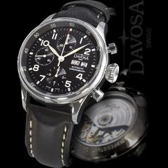 Davosa Watches Pilot Chronograph Automatic