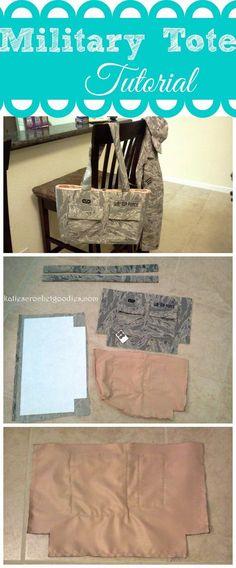 how to make a uniform tote