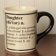 Tumbleweed 'Daughter' Definition Occupational Coffee Mugs *** New and awesome product awaits you, Read it now  : Coffee Mugs