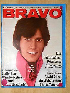 Bravo 19/1968 Dan Blocker, Bee Gees, Twiggy  -  TOPeo