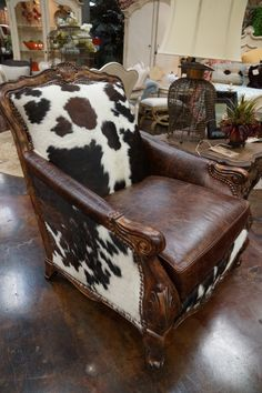 Carter's Furniture - Midland added a new photo. Cowhide Furniture, Western Furniture, Dream Furniture, Funky Furniture, Affordable Furniture, Leather Furniture, Home Decor Furniture, Rustic Furniture, Furniture Makeover