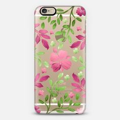 Garden Delight (Transparent) - Classic Snap Case