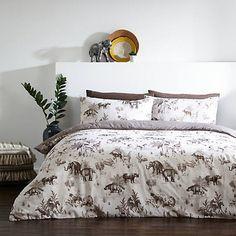 Nakuru Safari Print Duvet Cover & Standard Pillowcase Set
