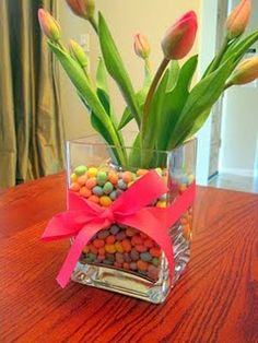 Tulips in Jelly Beans - My favorite flower with the nickname of my baby :)
