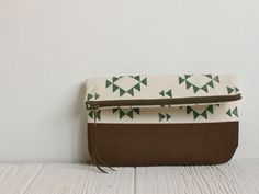 Fold Over Clutch from Milk and Honey