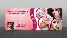 Beauty-facebook-cover-design-Free-Template Facebook Cover Photo Template, Facebook Cover Design, Free Facebook, Graphic Design Tutorials, Psd Templates, Cover Photos, Free Design, The Help, Logo Design