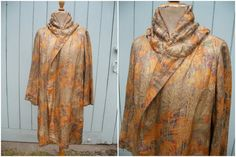 Vintage 1920s lame coat metallic silk with by OldEnglishRoses