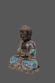 "Teppanom Female Figure 28.5/""H Verde Bronze Finish Buddhist Thailand Angel"