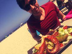 =  #mallorca #palmanova #mallorcamola #mallorcatestim #holidays #happy #pulpo #octopus #lunch #pornfood #instafood #foodporn #food #beach #playa by gerardxmallorca