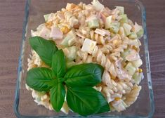 Makaron z szynką Pasta Salad, Food And Drink, Lunch, Ethnic Recipes, Food And Drinks, Crab Pasta Salad, Eat Lunch, Lunches