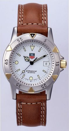 Obama's watch with leather strap