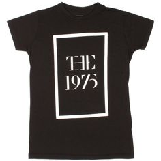 The 1975 Logo Girls T-Shirt ($18) ❤ liked on Polyvore featuring tops, shirts, band tees and clothing - ss tops