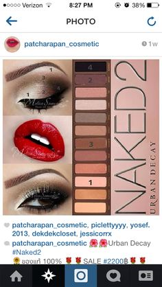 Makeup Tutorial For Brown Eyes Urban Decay - Makeup Eye Makeup Steps, Smokey Eye Makeup, Skin Makeup, Makeup Eyeshadow, Eyeshadow Palette, Eyeshadow Brands, Brown Eyeshadow, Matte Eyeshadow, Nyx Matte