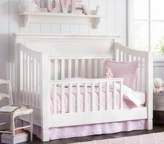 Kendall toddler bed conversion kit pottery barn kids blythe guard rail crib conversion larkin crib pottery barn sleigh bed gently pottery barn larkin 4 in [. Baby Furniture Sets, Kids Furniture, Pottery Barn Kids, Bedroom Images, Bedroom Ideas, Loft, Convertible Crib, Crib Mattress, Headboards For Beds