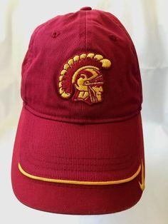 USC Trojan Southern California Rose Bowl Parade Nike Strapback Hat Red   Nike  BaseballCap Rose 99b7c32c9a80