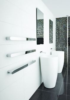 | P | Vega stainless steel heated towel rail