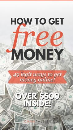 Do you want to get free money legitimately? Over $500 worth of bonuses inside. Learn which apps pay with Paypal and which sites pay the most. You'll even find games that let you earn money. Ways To Get Money, Make Money Fast, Make Money From Home, Free Money, Earn Money, Get Money Online, Rewards Credit Cards, Life Insurance, Personal Finance