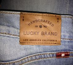 Love My Lucky Brand Jeans!