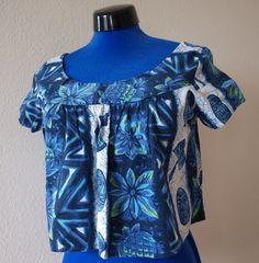 Vintage Tiki Sun Blouse