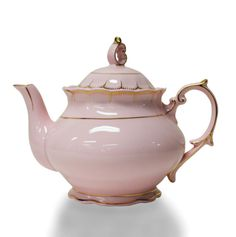 Light Pink Vintage Teapot