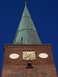 Torre catedral de AARHUS-Århus Domkirke by Felipe Escobedo (invierno) on 500px