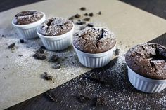 Vegan Chocolate Soufflé - About That Food