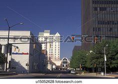 Augusta, GA, Georgia, Downtown Augusta. View Large Photo Image