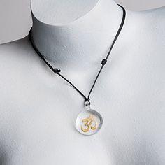 Washer Necklace, Pendant Necklace, Thing 1, Unisex, Band, Om, Jewelry, Fashion, Amulets