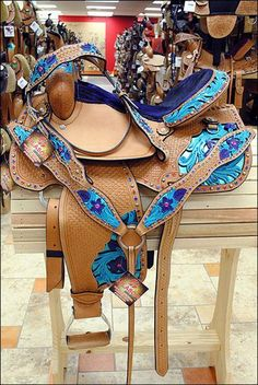 Embellished Western Barrel Racing, Trail, and Pleasure Saddle, with Matching Headstall and Breast Collar. Horse Gear, My Horse, Horse Love, Horse Riding, Horse Tips, Barrel Racing Saddles, Barrel Saddle, Barrel Horse, Western Horse Tack