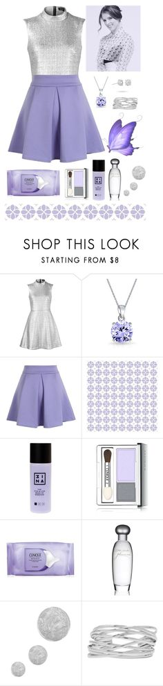 """42"" by enchantedmist ❤ liked on Polyvore featuring Markus Lupfer, Bling Jewelry, Chicwish, York Wallcoverings, 3ina, Clinique, Estée Lauder, Topshop, M&Co and Masquerade"