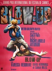 French Movie Poster Blow Up Vintage Movie Poster Redgrave Antonioni