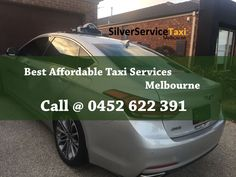 Silverservice24x7 #Taxi #Melbourne provides #affordable #Luxury #Taxi #Services in #Melbourne. We also provide services outside city #Melbourne also. Book Taxi by Direct call 0452 622 391 or Book@silverservice24x7.com For more detail visit at www.silverservice24x7.com