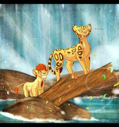 In Your Reflection. by Wolf-Chalk on DeviantArt The Lion King 1994, Lion King Fan Art, Lion King Movie, Disney Lion King, Dinosaur Room Decor, Lion Pictures, Le Roi Lion, Disney Nerd, Disney Addict