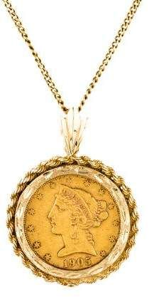 David of Wales Pendant 18 Chain Religious Obsession Gold Filled St