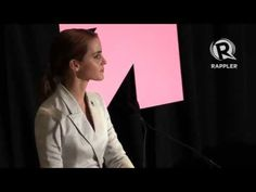 """Emma Watson Says That The View Feminism Is """"Man Hating"""" Has To Stop.  She made the comment in an inspiring speech about gender equality that received a standing ovation at the UN."""