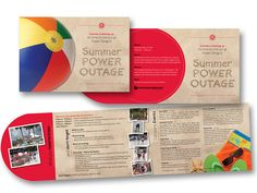 Direct Mail Design by Linda Altman Design, via Flickr