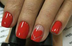 Valentine nail inspo