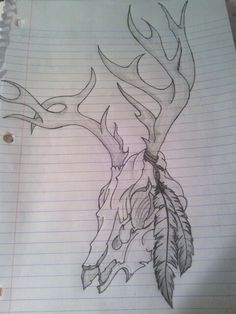 I love these for some reason!! Buck tattoo idea