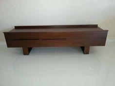 soild wood TV console