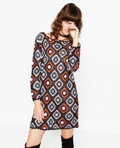 ZARA - WOMAN - CROCHET DRESS