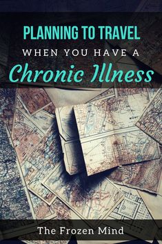 Traveling when you have a chronic illness comes with its own set of challenges. Here are some tips to make planning a trip easier. Chronic Fatigue Syndrome, Chronic Illness, Chronic Pain, Fibromyalgia, Hemiplegic Migraine, Autoimmune Disease, Addison's Disease, Ehlers Danlos Syndrome, Holistic Healing
