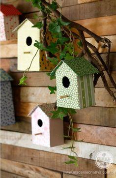 Wonderful DIY Carboard Bird House   WonderfulDIY.com
